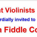 Scottish Youth Fiddling Competition