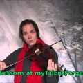 Free Fiddle Lesson Greensleeves Christmas Carol