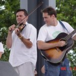 Vi Wickam accompanies Bluegrass Fiddler Kenny Stone