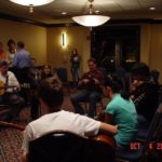 Jamming after the Grand Master Fiddler Championship