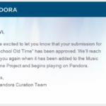 Old School Old Time – Now on Pandora