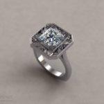 Violin Wedding Ring