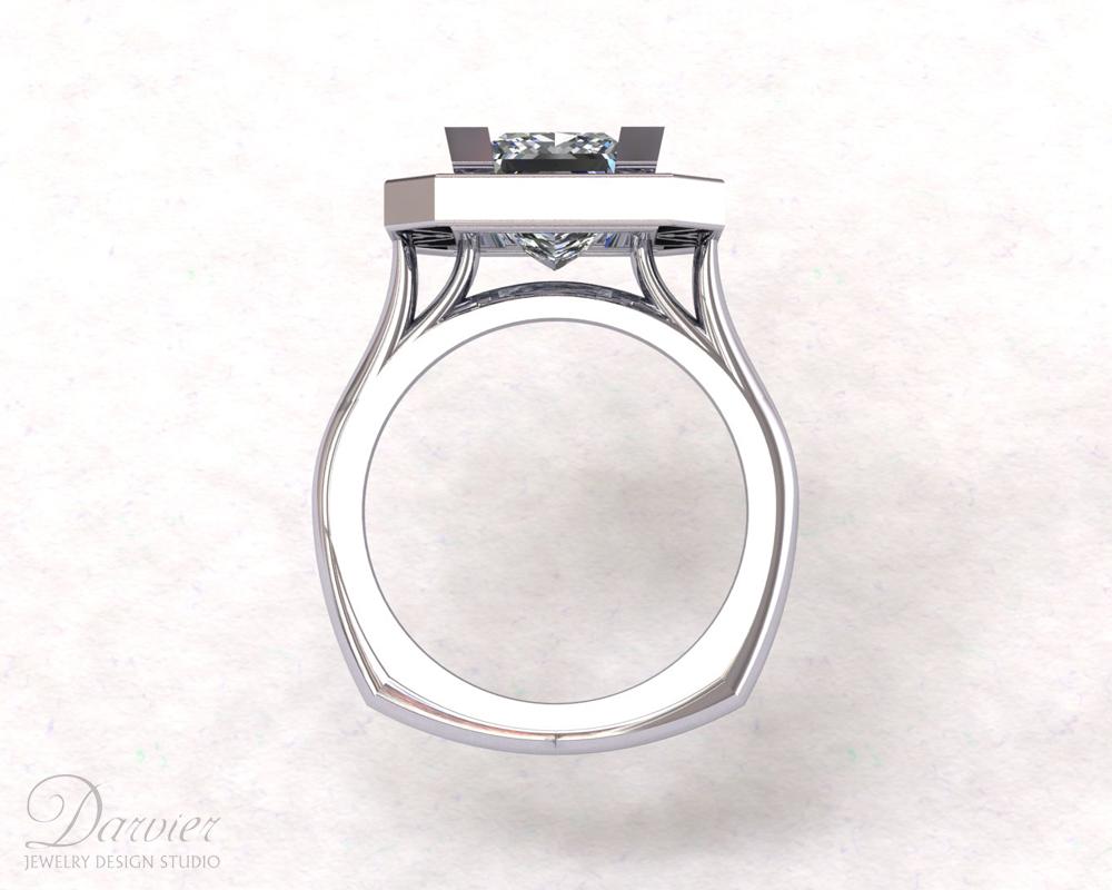 violin wedding rings vi wickam
