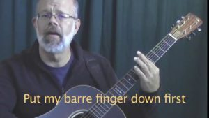 bar chord coordination tip