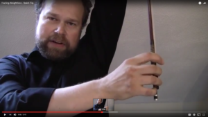 make your violin bow feel weightless