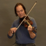 how to play harmonies on violin