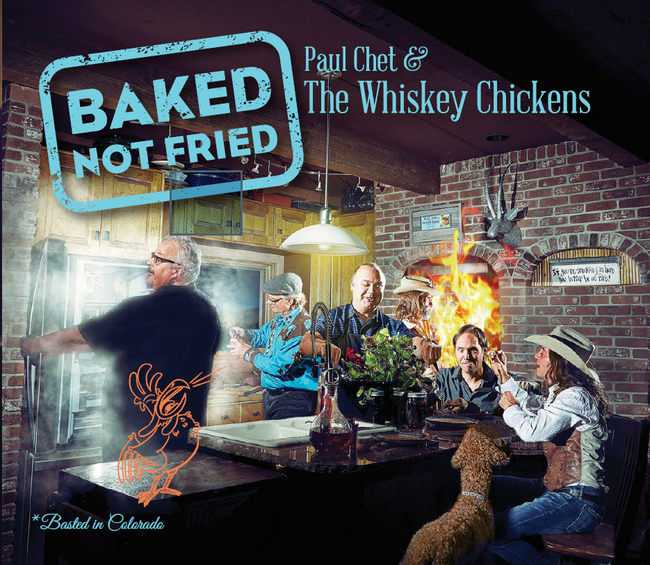 Whiskey Chickens, Baked Not Fried