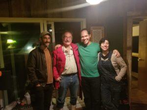 Ben, Paul, Vi, & Albanie